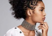 21 coolest cornrow braid hairstyles in 2020 the trend spotter Natural Cornrow Hairstyles For Women
