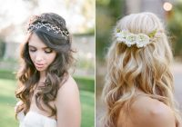 Awesome 10 of the best half up half down wedding hairstyles with braids Bridal Hairstyles Half Up Half Down With Braids Inspirations