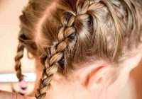 Awesome 20 quick and easy braids for kids tutorial included Quick Braid Hairstyles Ideas