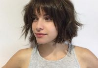 Best 55 best short layered bob with bangs short haircut Short Length Hairstyles With Bangs And Layers Ideas