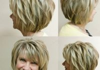 Elegant cute little lady and her fab bob we put in blonde and Cute Hairstyles For Short Hair With Bangs And Layers Choices