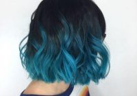 Elegant the hottest blue ombre hairstyles for short hair Blue Short Hair Styles Ideas