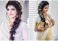 Fresh 21 simple indian hairstyle for saree Party Hairstyle For Short Hair With Saree Inspirations