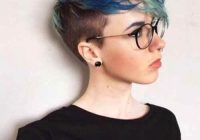 Fresh 23 bold yet elegant short hairstyles for girls to look chic Blue Short Hair Styles Choices