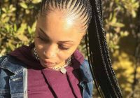 Stylish 10 gorgeous ways to style your ghana braids a step step Braids Straight Up Hairstyles Inspirations