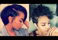 Trend 28 best short hairstyles for black women with relaxed hair 2018 2019 Short Hairstyles For Relaxed Hair Inspirations