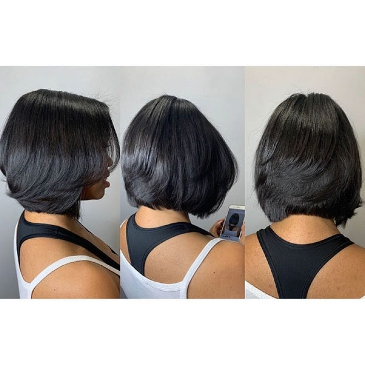 Permalink to 10 Cool African American Layered Hairstyles