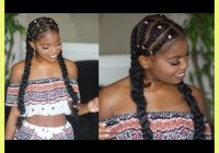 Trend quick braid hairstyles for black hair 431190 quick and easy Quick Braid Hairstyles Inspirations