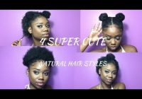 Trend super cute hairstyles for short natural hair half up Hairstyle Ideas For Short Natural Hair Choices