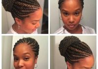 unique braided straight up hairstyles natural hair styles Straight Up Cornrows Hairstyles